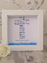 baptism gifts from godmother personalised christening gift shadow box frame baptism
