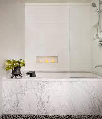 dishy pebble bathroom floor amazing ideas with stacked stone wall