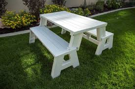 picnic table converts to bench convert a bench