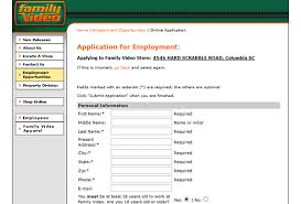 family video job application apply online