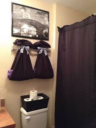 apartment bathroom decor ideas bathroom idea to hang their towels each picture