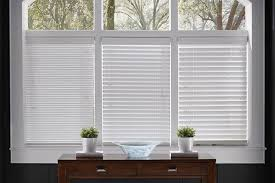 White Wood Blinds Home Depot Bedroom Best Faux Wood Blinds The Home Depot For 2 Window Decor
