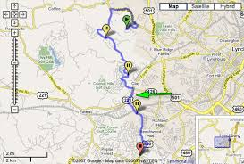 commute map commuting 101 how to find the route maps