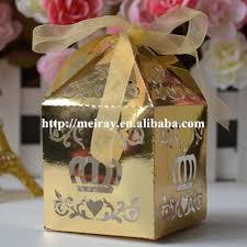 where to buy party favors laser cut diwali sweet box metallic gold party favor boxes cake