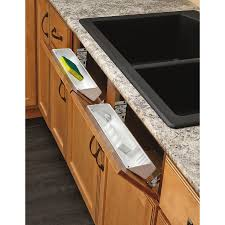 lowes 60 inch kitchen sink base cabinet rev a shelf 14 in w x 3 in h 1 tier door wall mount plastic tip out tray