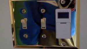 Westek Digital Residential Hardwired Timer by How To Installing An Automatic Light Timer Youtube