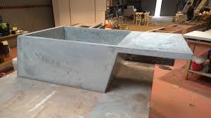 Concrete Reception Desk Niche Concrete Designs Concrete Design Concrete Reception Desks