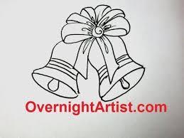 draw christmas stuff draw jingle bells