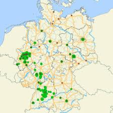 map of deutschland germany german environmental zones umwelt plakette de