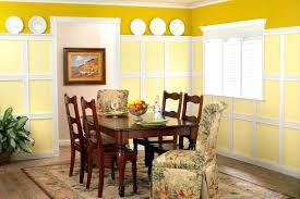 Chair Rail Color Combinations Dining Room Crown Molding Ideas Interior Dining Room Color Schemes