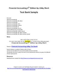 testbank financialaccounting debits and credits financial