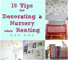 Baby Decor For Nursery 15 Tips For Decorating A Nursery While Renting Disney Baby