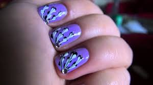 Light Purple Nail Designs Light And Elegant Nail Design How To Do A Manicure Autumn Winter