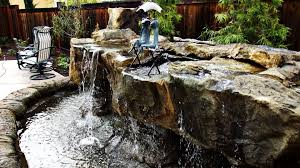 Backyard Water Falls by Backyard Waterfalls Brentwood Ca 925 437 4828 California
