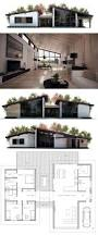 Modern Contemporary Floor Plans by Best 25 Split Level House Plans Ideas On Pinterest House Design