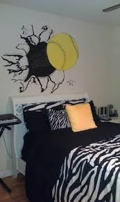 softball bedroom ideas softball room google image printout borrowed projector from a