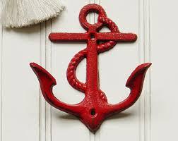 Decorative Coat Hook Anchor Wall Hook Etsy