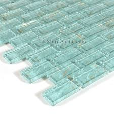 Glass Subway Tile For Pools Glass Tile X Glass Tile Brick - Teal glass tile backsplash