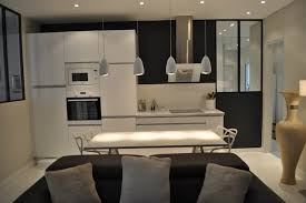 cuisine ouverte sur sejour salon appartement 3 pièces et fonctionnelle cuisine ouverte sur le salon