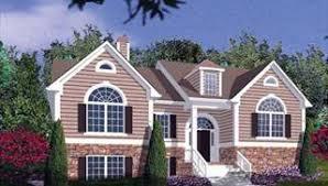 split level home plans split level house plans home designs the house designers