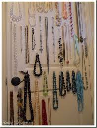 How To Hang A Closet Door Use Command Hooks To Hang Jewelry On The Inside Of A Closet Door