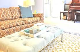 oversized ottoman coffee table u2013 capsuling me