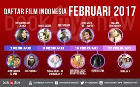 list film romantis indonesia terbaru daftar film indonesia tayang februari 2017 bookmyshow indonesia blog