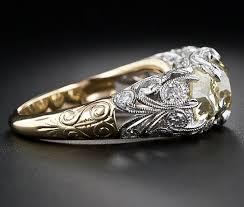 edwardian style engagement rings beautiful yellow gold edwardian style engagement rings fashion
