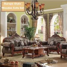 Wooden Frame Sofa Set Webetop Modern Design Luxury Sofa Set Hand Craft Oak Wood Home