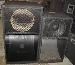 12 Inch Bass Cabinet Scoops U0026 Bass Horns