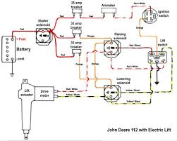 need wiring diagram for a 112 with electric lift and pto john