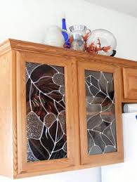 Glass Designs For Kitchen Cabinet Doors by Stained Glass Kitchen Cabinets Cabinet Door Designs In Stained