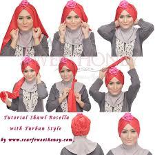 download video tutorial hijab turban tutorial jilbab cara memakai shawl rosella turban