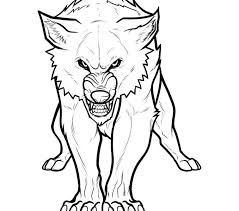 color wolf color pages creative tablet awesome kids coloring
