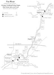 Wisconsin River Map by Fox River Paddling Fishing Pages