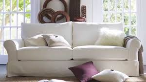 Pottery Barn Loose Fit Slipcover The Pb Comfort Eco Sofa Youtube