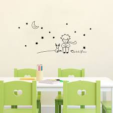 stickers étoiles chambre bébé le petit prince lune étoiles vinyle wall sticker bébé enfants