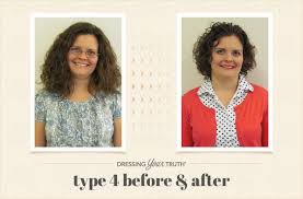 dyt type 4 hair cuts clean classic type 4 dressing your truth makeover dyt before