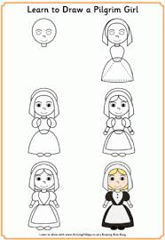 thanksgiving learn to draw printables h the thanksgiving