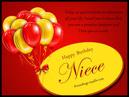 niece birthday messages happy birthday wishes for niece wordings