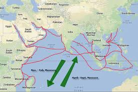 Indian Ocean Map Where Is Indian Ocean Located On The World Map Indian Is