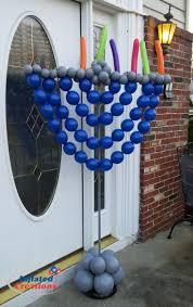 outdoor hanukkah menorah 9 best inflated creations theme balloons images on