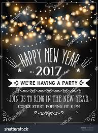 new year invitation new years invitation party stock vector 501083416