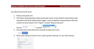 buat akun gmail bahasa indo cara membuat email di gmail pdf google drive
