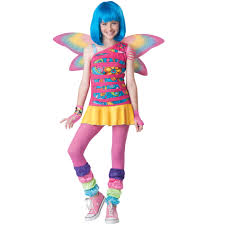 rainbow fairy girls halloween costume
