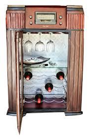 vintage radio conversion to wine rack merv u0027s recreations pinterest
