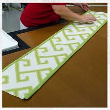 how to make table runner at home table runners made modern for how to make a runner plans 9