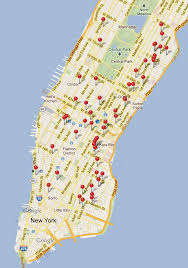 Soho Nyc Map New Yorkers Here U0027s A Map Of Where You Can Charge Your Smart Phone