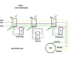 outstanding 3 way and 4 way wiring diagrams with multiple lights