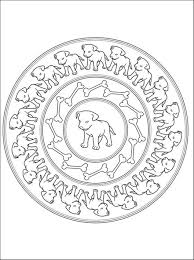 puppies mandala coloring pages mandala coloring pages of